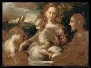 Parmigianino El matrimonio místico de Santa Catalina