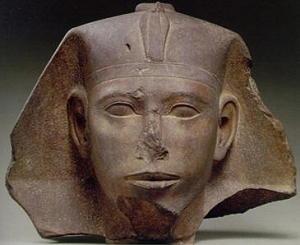 Testa del re Kheper, IV dinastia, regno di Kheper