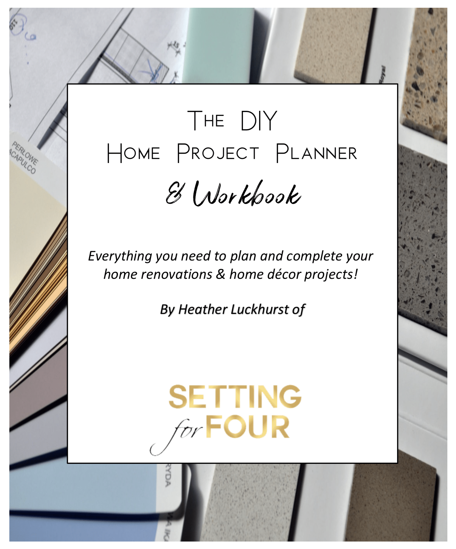The Diy Home Project Planner Workbook Organizer 19 Pages