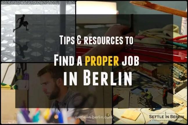Find a job in berlin