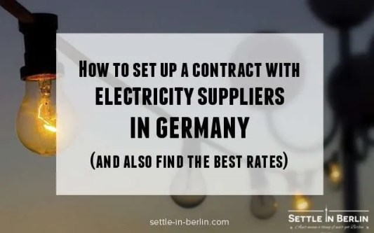 electricity suppliers germany