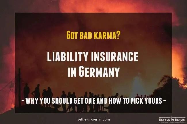 liability insurance Germany