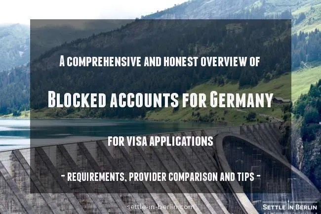 Blocked account Germany comparison