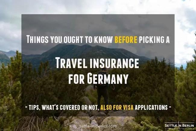 travel insurance Germany