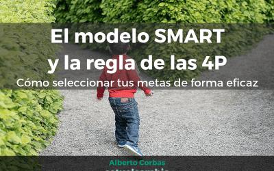 El modelo SMART y la regla de las 4P. Cómo seleccionar tus metas de forma eficaz