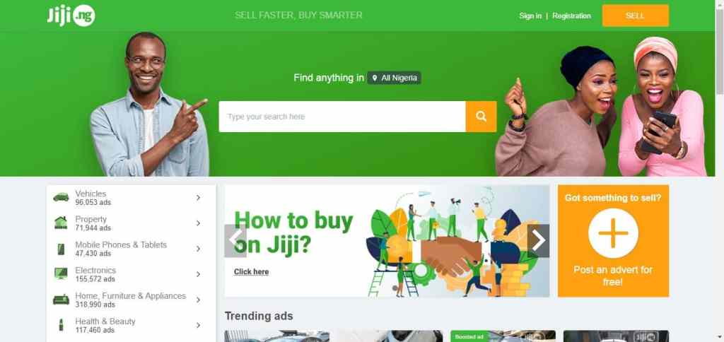 How to sell on Jiji