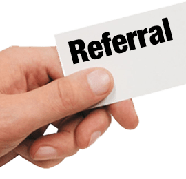 referrals Beaumont TX, referrals Southeast Texas, referrals Golden Triangle, SETX Referrals