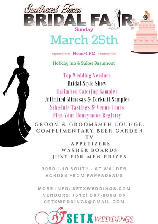 bridal fair Beaumont TX, bridal extravaganza Beaumont TX, bridal traditions Beaumont TX, Golden Triangle wedding vendors, wedding events Southeast Texas, bridal fair Houston, wedding events Houston