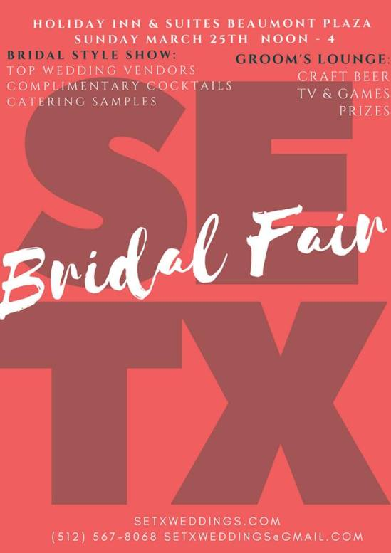 bridal fair Beaumont, bridal expo Beaumont TX, Bridal Traditions Beaumont TX, Southeast Texas Bridal Fair, Golden Triangle Bridal Events, marketing Southeast Texas, Golden Triangle advertising, SEO Beaumont, Search Engine Optimization
