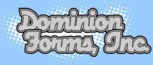 Dominion Forms Orange TX, Printing Company Beaumont TX, Printing Company Port Arthur, SETX Printing Companies