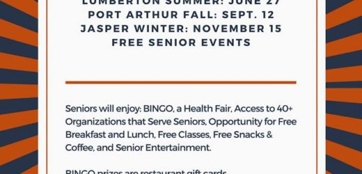 Southeast Texas Senior Expo, Southeast Texas Health Fair, Port Arthur Senior Expo, Port Arthur Health Fair, Jasper Senior Expo, Jasper Health Fair