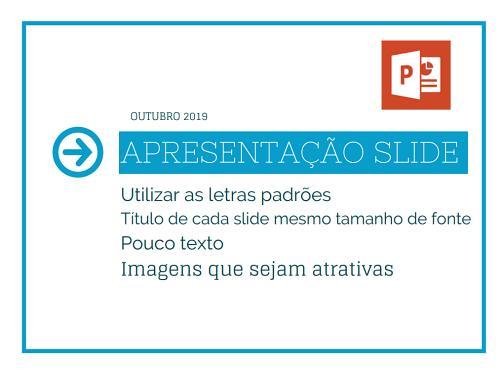 apresentação slide power point