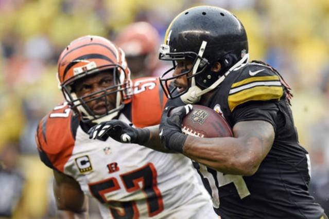Steelers vence Bengals 24 – 16