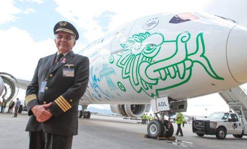 LLEGA A MÉXICO EL 787-9 QUETZALCÓATL