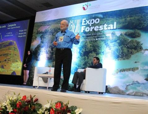 Propone José Sarukhán fortalecer comunidades para aprovechamientos forestales