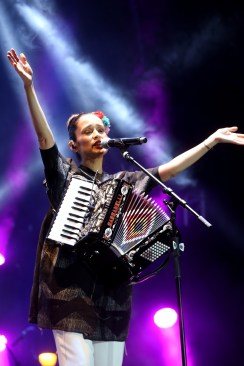 Espectacular concierto de Julieta Venegas en el  Festival Quimera