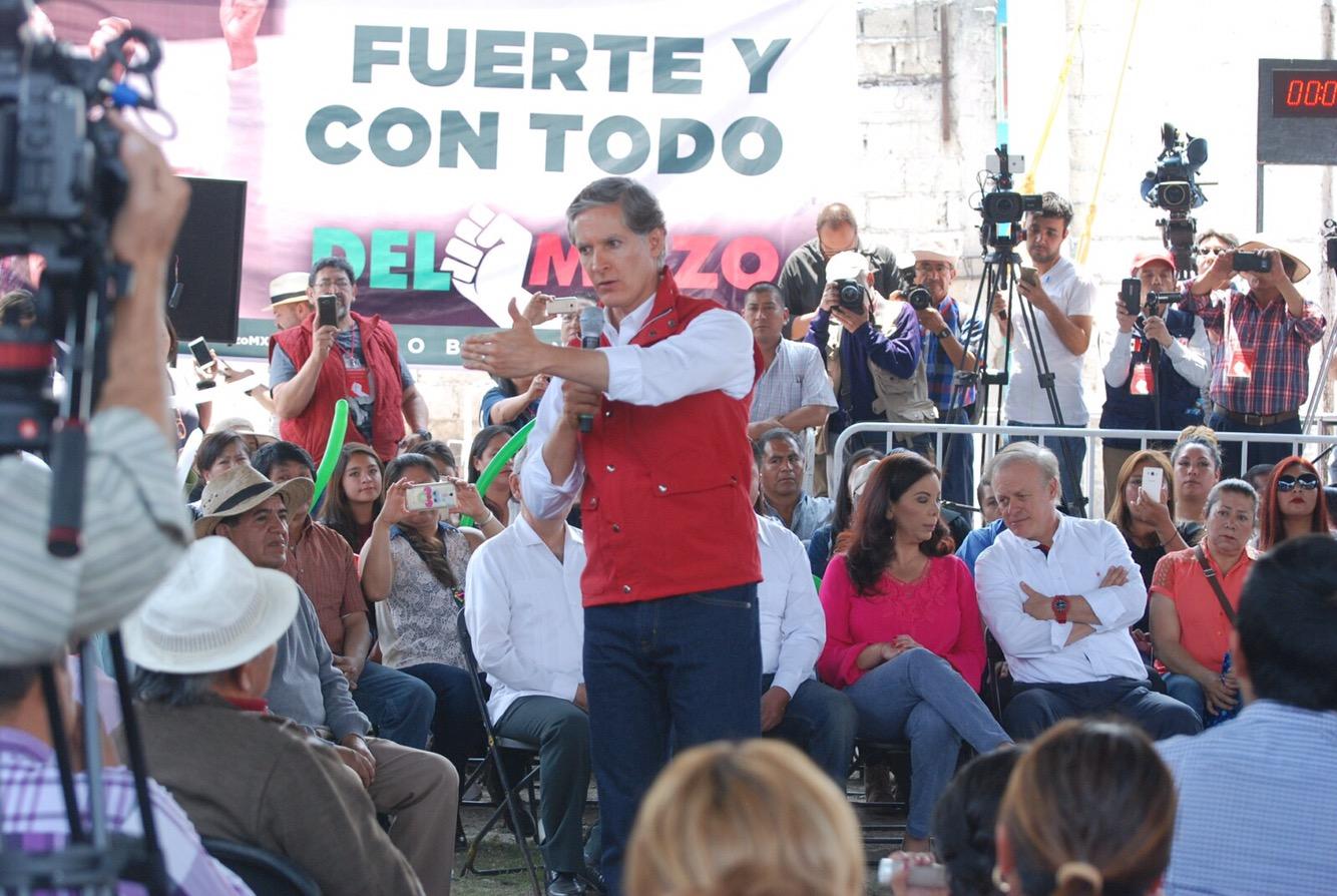 Alfredo Del Mazo Promete Apoyar A La Productividad De San Pedro  # Muebles Tultepec Toluca