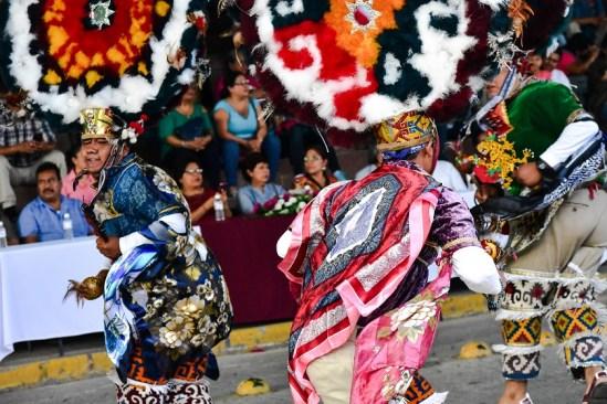 Celebran en Zaachila Encuentro Monumental de la Danza de la Pluma 2017