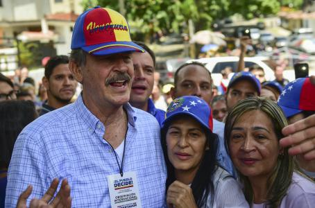 Declaran persona 'non grata' en Venezuela a Vicente Fox