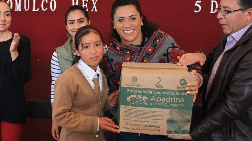 La niñez atlacomulquense cuenta con el respaldo de Anna Chimal