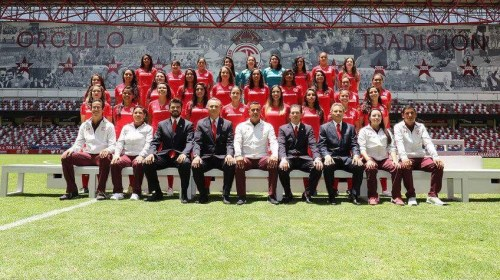 Diablas Rojas listas para el Apertura 2017 en Liga Mx Femenil