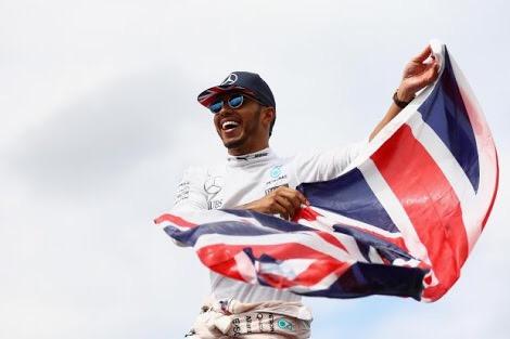 Hamilton el número uno en el GP de Silverstone