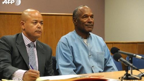 O. J. Simpson recibe la libertad condicional