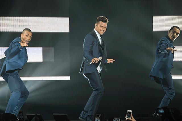 Ricky Martin cerró su tour en Cancún