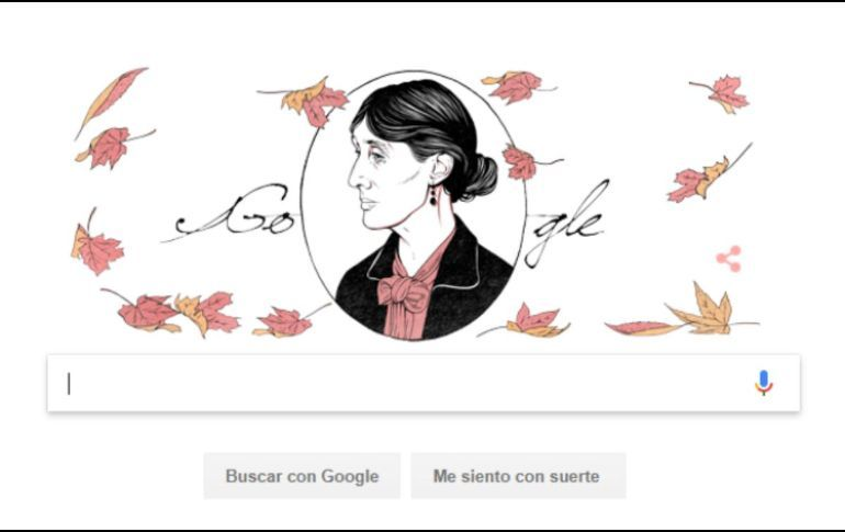 Homenajea Google a Virgina Woolf