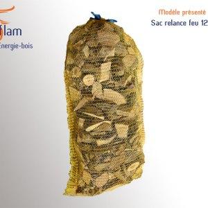 Sac / filet relance feu pour refaire de la flamme – 12 kg
