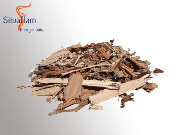 Big bag écorce de bois non broyé pour permacutlure 1m3   Sèvaflam - Bois de chauffage sur palette