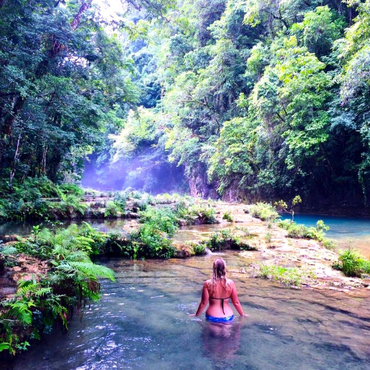 Beautiful Semuc Champey featuring Seven Continents Sasha. 15 Highlights from 2015!