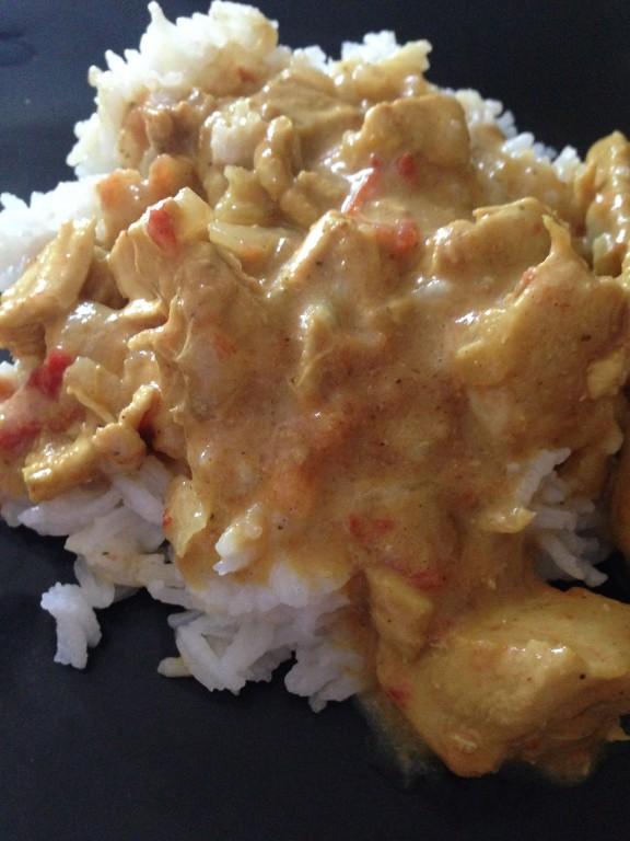 emince de poulet au curry
