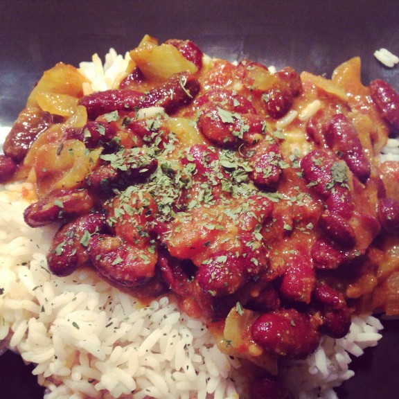 rajma de haricots rouges
