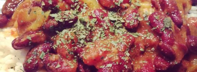 rajma de haricots rouges