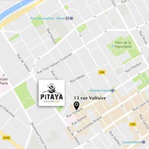 Plan d'accès Pitaya