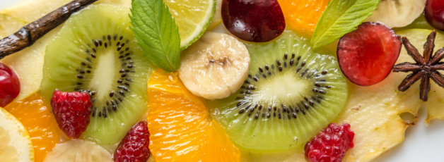 carpaccio de fruits