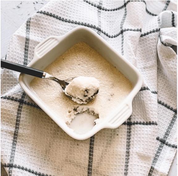 Semoule au lait de coco
