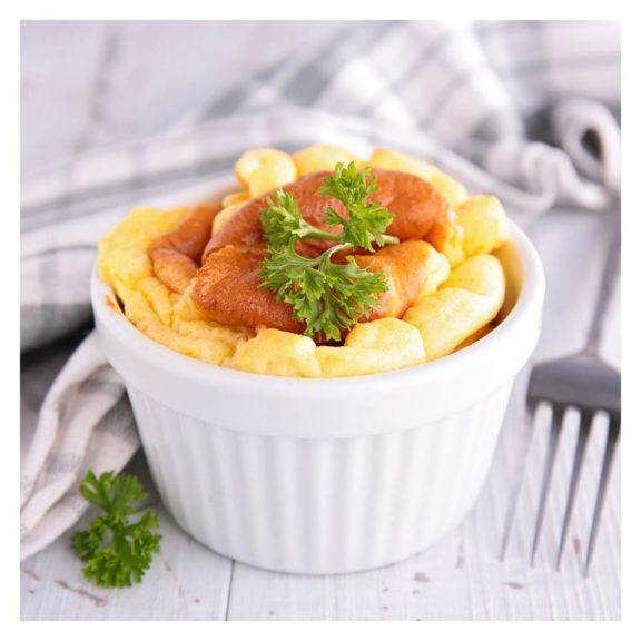 Soufflé au fromage de Cyril Lignac-Tous en Cuisine
