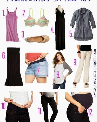 Pregnancy Style 101: Must-Have Maternity Clothing