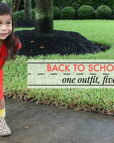One Outfit, Five Ways: Back to School Style with Mini Boden   $750 Giveaway!