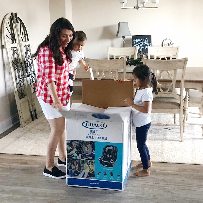 What to look for when choosing a new car seat & three big reasons why we went with the Graco 4Ever All-in-1: quality, safety, & affordability.
