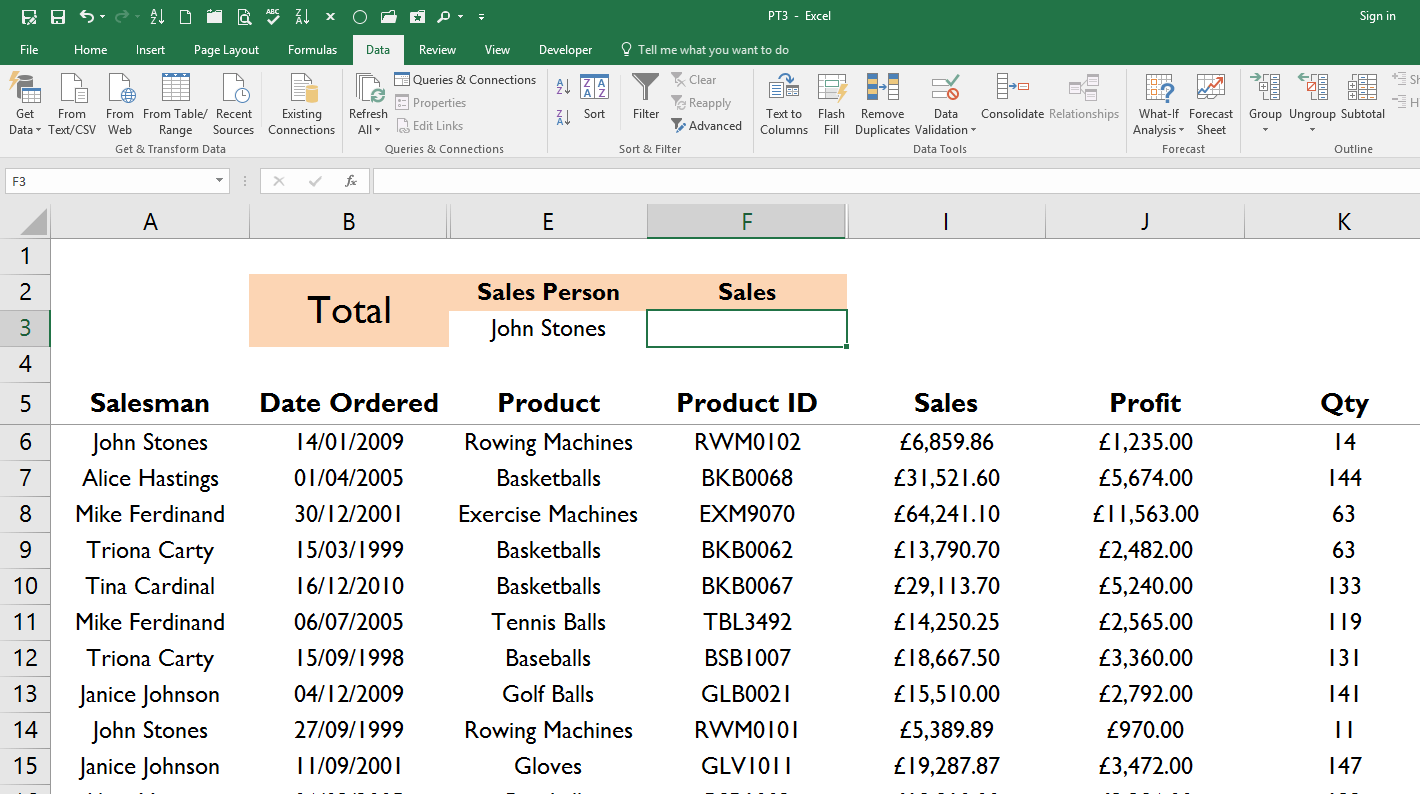 Excel Formulas And Functions Tutorial