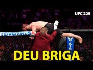 UFC 229 Termina em Pancadaria Após Derrota de Conor MCGregor