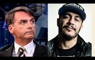 Bolsonaro e Marcelo D2 Discutem no Twitter.