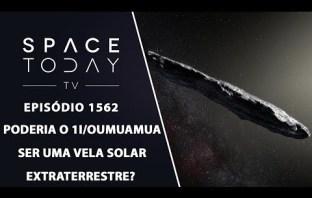 Poderia o 1I/Oumuamua Ser Uma Vela Solar Extraterrestre?