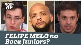 Boca Juniors QUER Felipe Melo! Palmeiras deve LIBERAR?