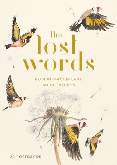 The Lost Words 20 Postcard Pack by Robert Macfarlane