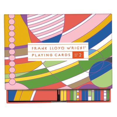 Frank Lloyd Wright Playing Card Set by Sarah McMenemy