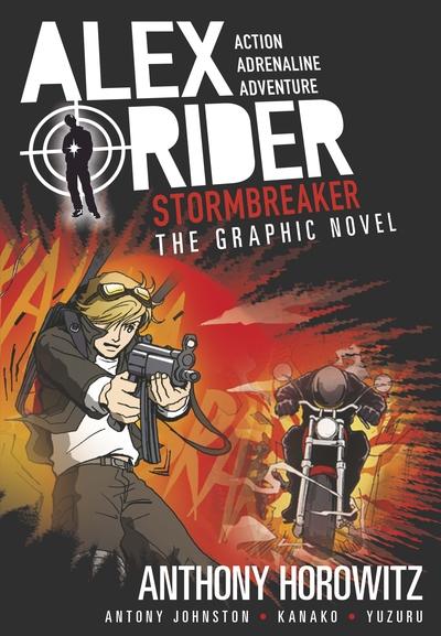 Stormbreaker Graphic Novel by Anthony Horowitz